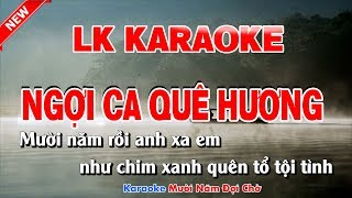 Lk karaoke Ngợi Ca Quê Hương Cha Cha Cha - ngoi ca que huong karaoke nhac song