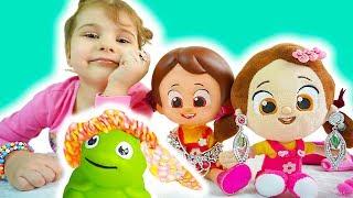 Niloya ve Tospik Eylül Barbie Doğum Günü Makyaj - Kids Videos - Tontik TV