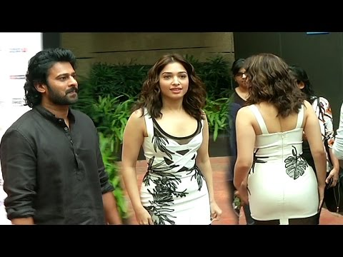 Bahubali Prabhas and Hot Tamannaah Bhatia at 18th Jio Mami Film Festival thumbnail