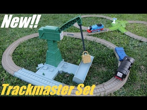 Thomas & Friends: Cranky's Spinning Cargo Drop Playtime - Trackmaster