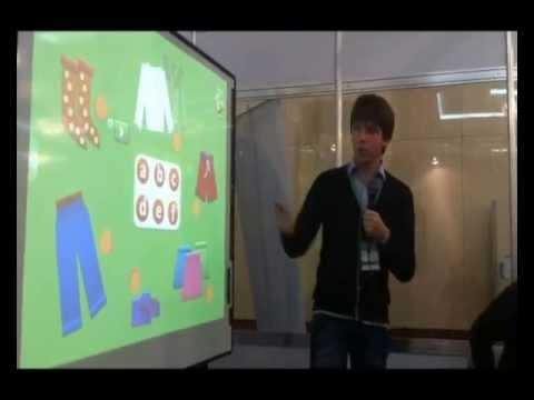 Использование интерактивной доски eno и ПО Qwizdom WizTeach на уроке английского в начальной школе