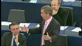Nigel Farage: The Union is in a state, Mr Barroso