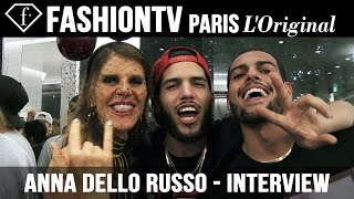 Anna Dello Russo - Special Interview for Vogue Japan's 15th Anniversary | FashionTV