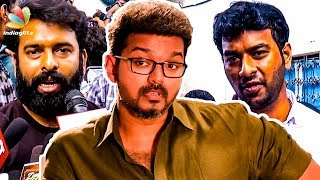 Thalapathy Vijay Easily Connects with Youngsters : Santhosh Narayanan, Vivek | Sarkar Movie Review