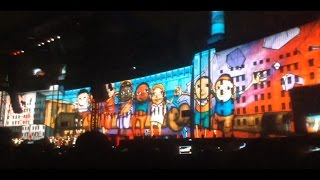 Another brick in the wall-Roger Waters (Zocalo CDMX 2016)