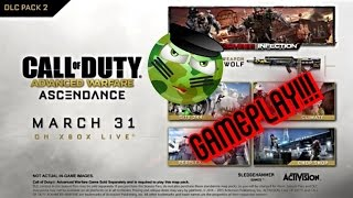 Ascendance Advance Warfare DLC Gameplay