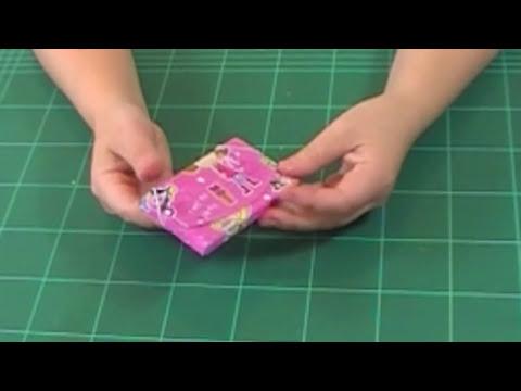 Monedero de cartón   Manualidades con reciclaje
