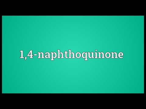 Header of 1,4-Naphthoquinone