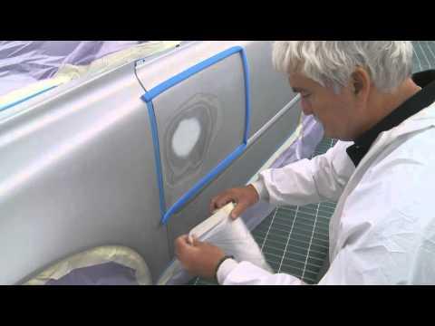 Car Masking for Primer Spraying by 3M [Step 4]