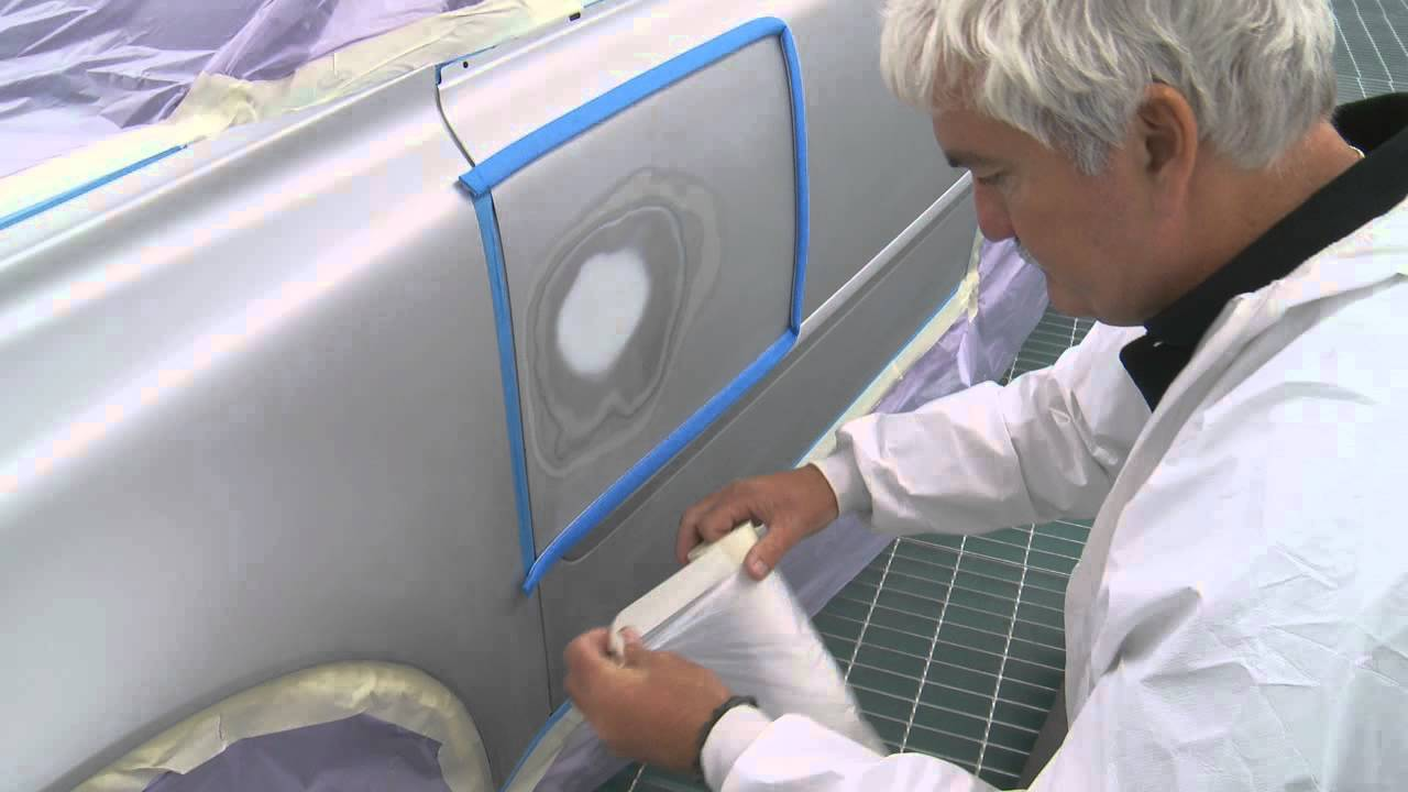 Car Masking for Primer Spraying by 3M [Step 4] - YouTube
