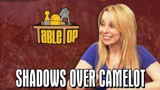 Shadows Over Camelot: Jerry Holkins, Mike Krahulik, and Tara Strong join Wil on TableTop SE2E11