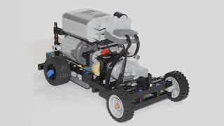 The IceDriver: an active rear differential in a Lego car