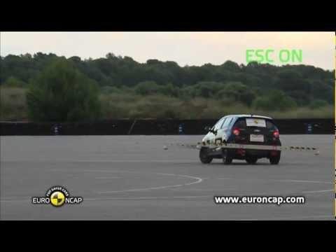 Euro NCAP | Chevrolet Aveo | 2011 | Электронный контроль устойчивости