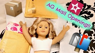 Opening American Girl Doll Mail From Ebay!!
