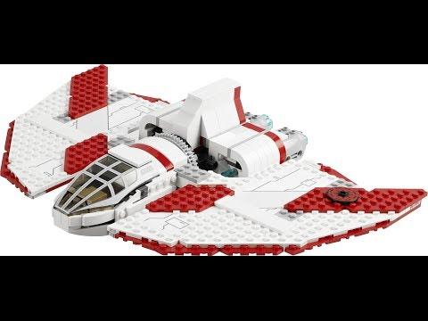 """Обзор"" на LEGO Star Wars 7931 ""Шаттл джедаев"""