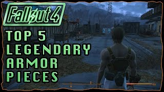 Top 5 Legendary Armor Perks | Fallout 4