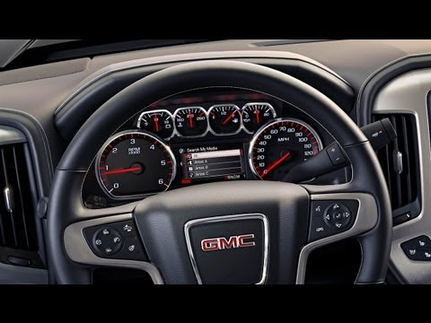 2014 GMC Sierra: Everything you'd ever want to know about the new trucks interior design