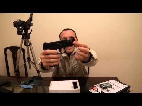 Review da Pistola de Airsoft Spring Cyber Gun Taurus 24/7