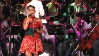 """Adele """"Set Fire To The Rain"""" cover by Keroncong muda"""