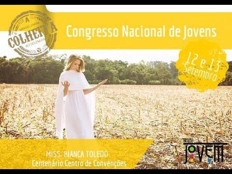 Congresso Nacional de Jovens A Colheita Bianca Toledo