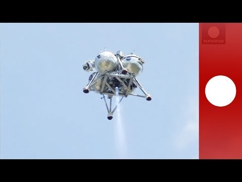 NASA's Morpheus lander completes free-flight test at Kennedy Space Center