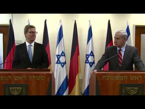Prime Minister Netanyahu meets the Foreign Minister of Germany, Guido Westerwelle