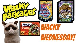 Wacky Wednesday! Wacky Packages and Grumpy Cat