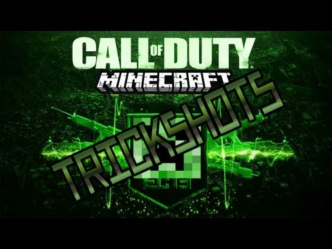 Minecraft Call of Duty Trickshot Mod Review!