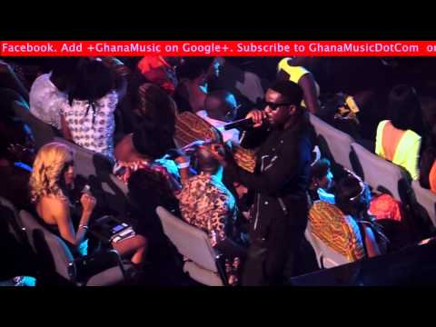 Sarkodie - Performing 'down On One' At Mtn 4syte Tv Music Video Awards 2013 | Ghanamusic Video video