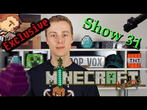 New Mojang Accounts, Pre-Release 6 & LOTS MORE! - The Minecraft Monday Show: 31 Music Videos