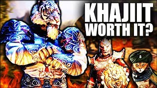 Skyrim: Being a Khajiit WORTH IT? - Elder Scrolls Lore