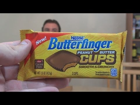 WE Shorts - Butterfinger Peanut Butter Cups