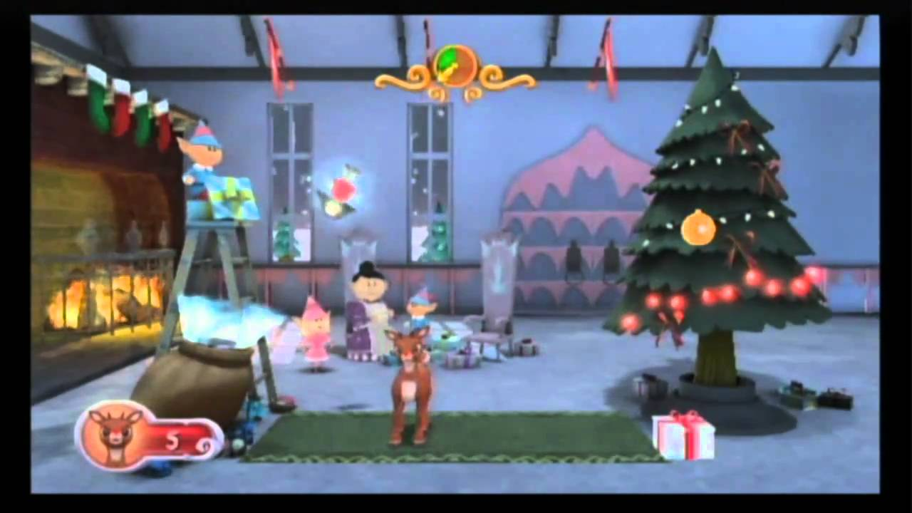 Rudolph The Red Nosed Reindeer Review Wii YouTube