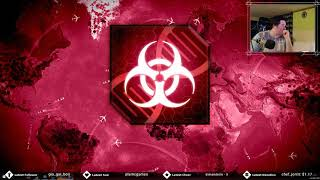 Plague Inc Evolved and Skribbl with plamCGames! Fun night.