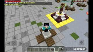 Minecraft pe 15.6 hunger games
