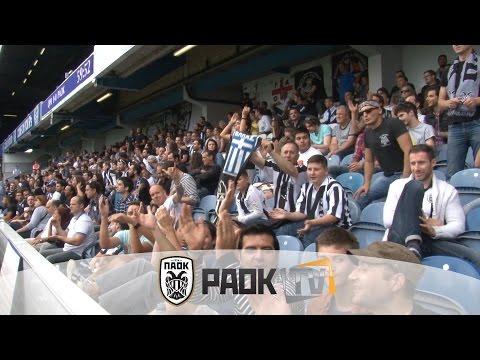 Η παρακάμερα του QPR Vs ΠΑΟΚ 0-1 - PAOK TV