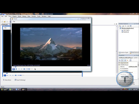 Windows Media Player for Visual Basic 2008