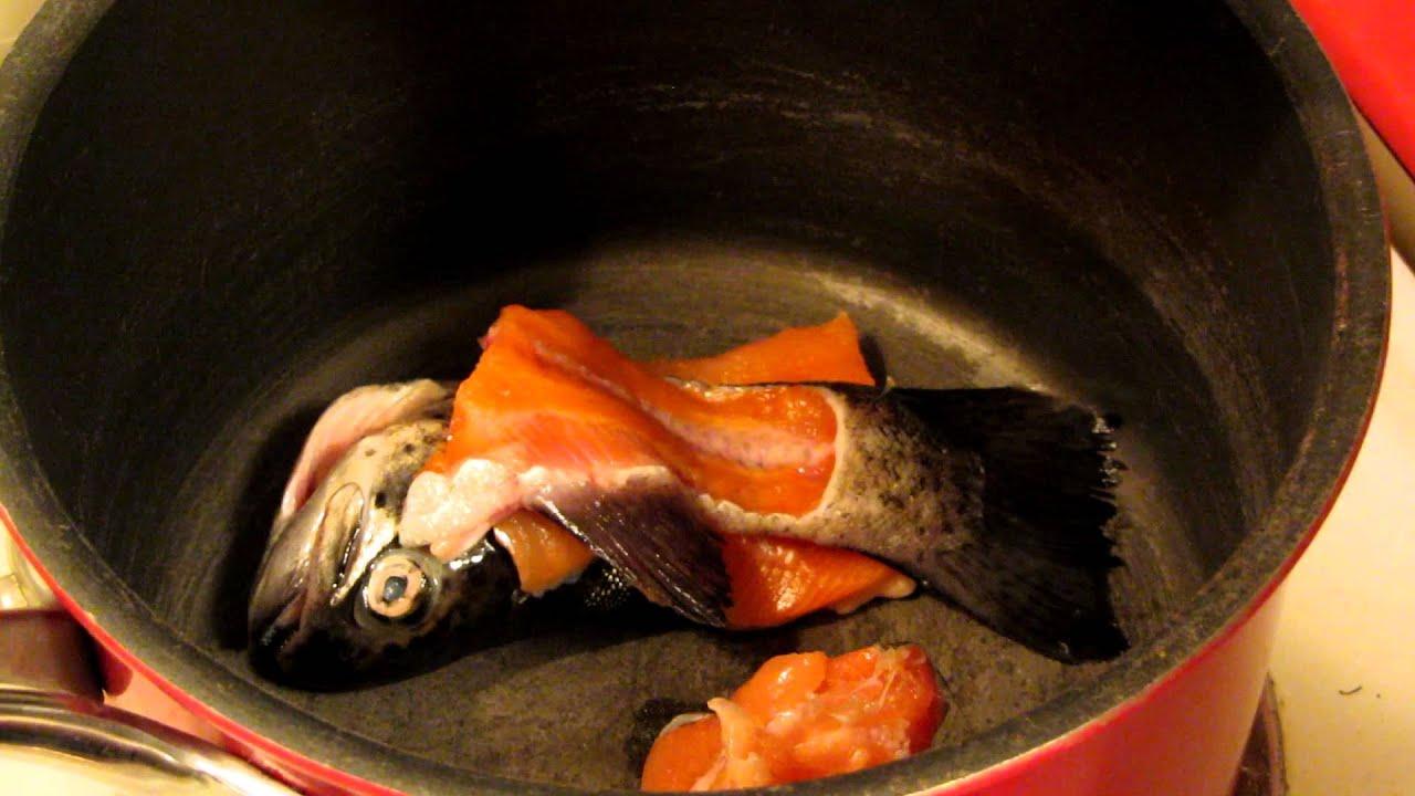 Fish tea broth youtube for Fish tea soup