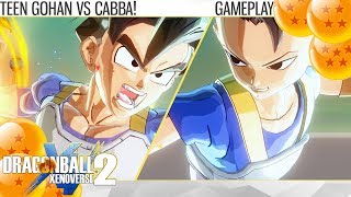 (2K) Dragon Ball Xenoverse 2 - Teen Gohan vs Cabba! Who is actually stronger!? (Gameplay)