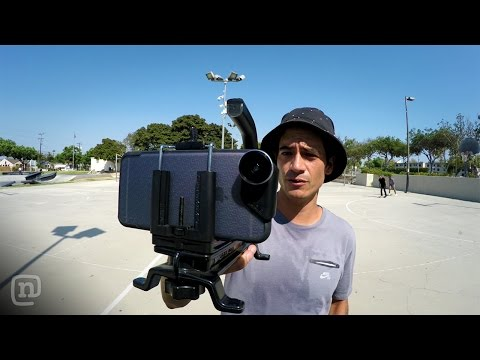 Learn to Shoot Crazy Skate Videos with a Phone on NKA