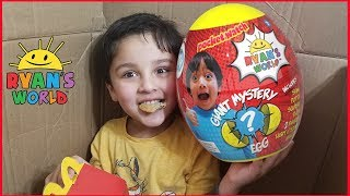 I Mailed Myself to Ryan ToysReview for the New Giant Surprise Egg and it worked!! Skit