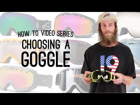 How To Choose A Goggle