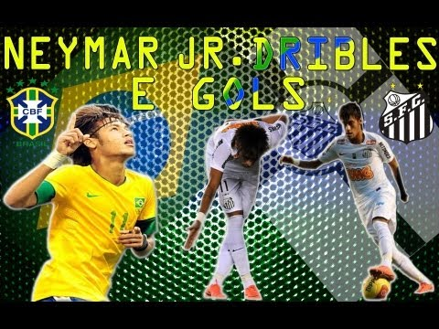 Neymar - Dribles E Gols - Part 1/2