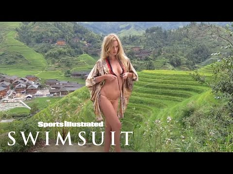 Swim Daily, Behind The Scenes in China SI Swimsuit 2013