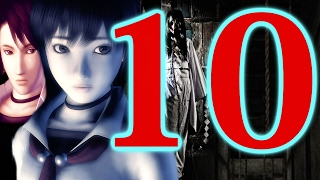 Project Zero / Fatal Frame Walkthrough Part 10 - PS2 - Mask Room Puzzle! Blinding Mask!