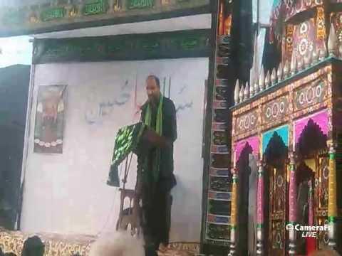 LIVE AZADARI | Zeeshan Azmi | Meesum Gopalpuri | 1438 Hijri | India تعارفی تقریر