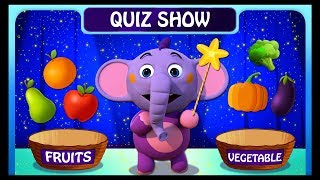 Kent Quiz Show - Fruits Or Vegetable | Educational Cartoons for Children  | ABC Learning Club