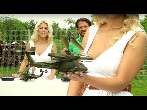 Simulus Funk-Ferngesteuerter Militär-Hubschrauber