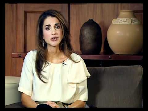 Queen Rania Addresses the Parliament