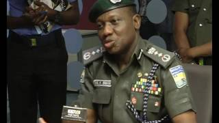 Courtesy visit: IGP Ibrahim Idris endorses TVC News Coverage